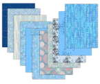 Blue 8x8 Scrapbook Paper