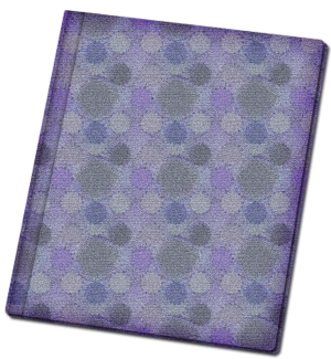 fabric covered scrapbook album