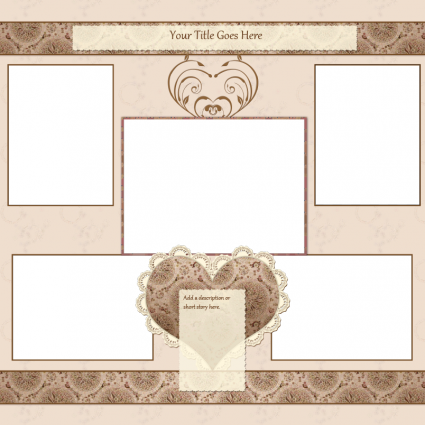 templates for scrapbooking to print free scrapbook templates lovetoknow