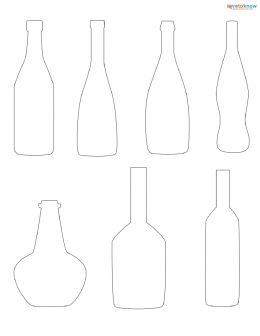 bottle patterns to print