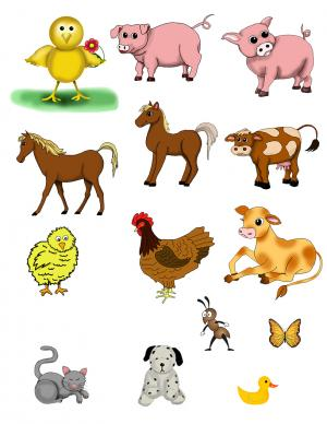 free scrapbook embellishments to print animal clip art - Animal Pictures To Print Free