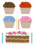 cupcake scrapbook clip art