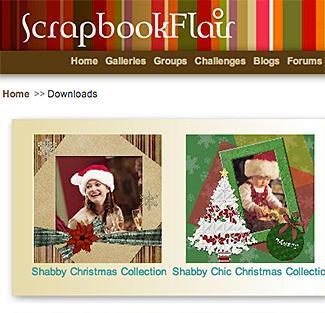 Screenshot of Scrapbook Flair