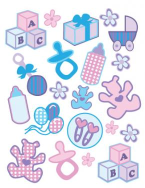 baby printable stickers