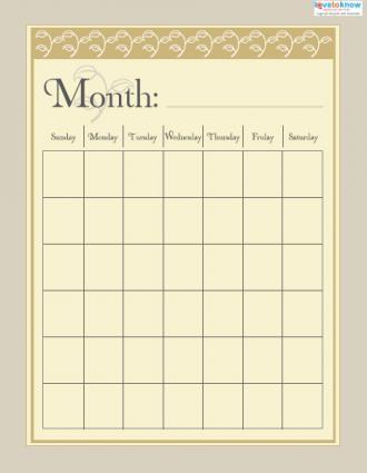 Month Smash Book - 8 1/2 x 11