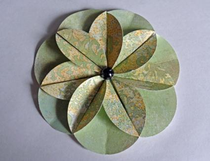 paper punch flower