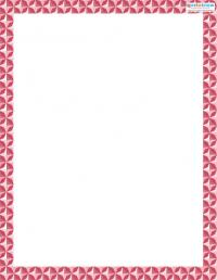 Printable Scrapbooking Borders Geometric 1