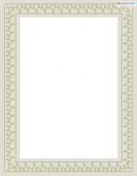 Printable Scrapbooking Borders vines 2