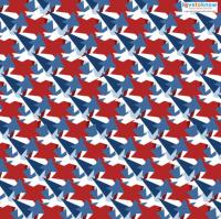 4th of July Scrapbook Paper Designs 3