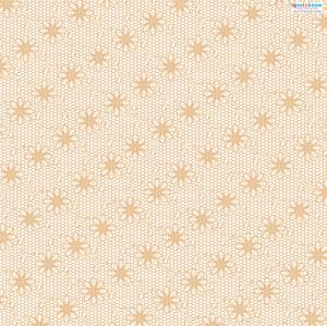 Lace Patterned Paper 1 peach