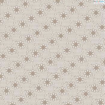 Lace patterned paper