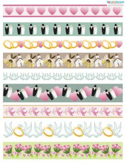 Wedding Scrapbook Ideas border 1