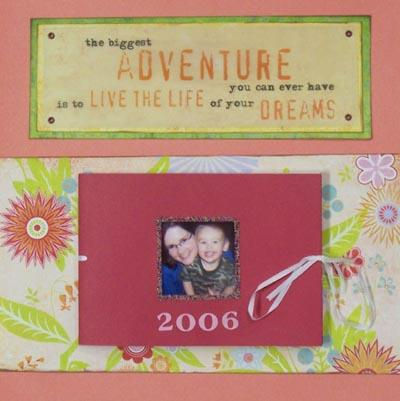 Friends and Family Scrapbook Ideas