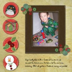 Scrapbook page created with Serif