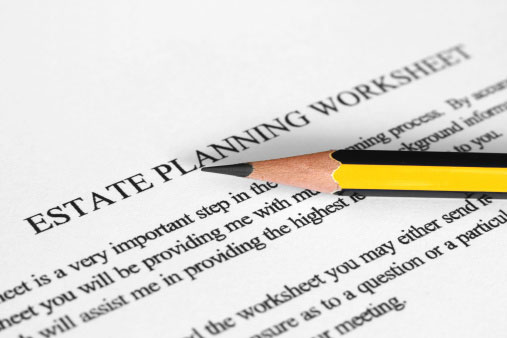 Free Forms for Living Trust and Will – Estate Planning Worksheet