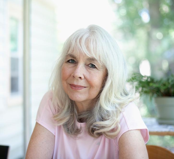 Long Hairstyles For Elderly Women Slideshow