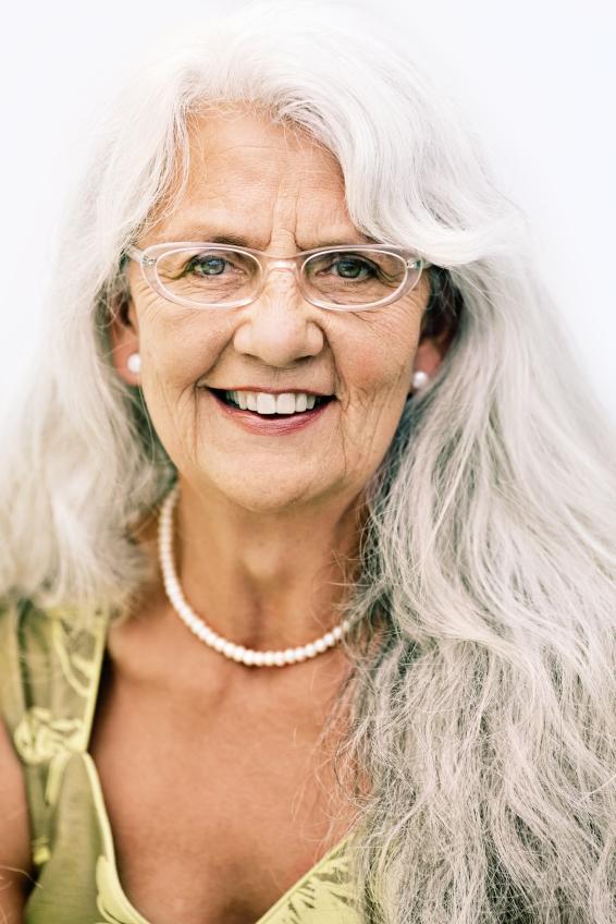Tremendous Long Hairstyles For Elderly Women Slideshow Short Hairstyles Gunalazisus