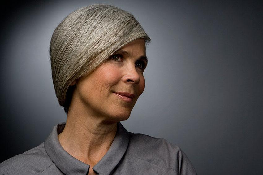 Styles For Grey Hair: Pictures Of Short Hairstyles For Gray Hair [Slideshow]