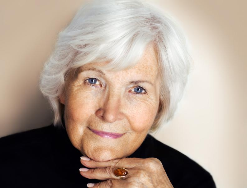 Hairstyles for Older Women with Gray Hair