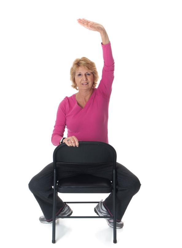 Senior Chair Exercise Pictures [Slideshow]