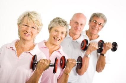 Weight Lifting for Seniors