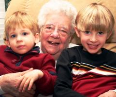Grandma and Grandchildren
