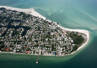 Anna Maria Island aerial view