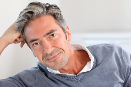 Senior Men Hair Color Tips