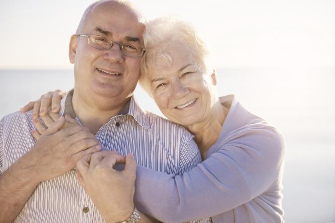 Grandparents Having Fun