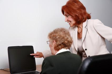 Senior Citizen at Work