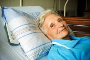 Woman in Long Term Care Facility