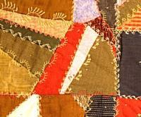 Crazy patch quilt