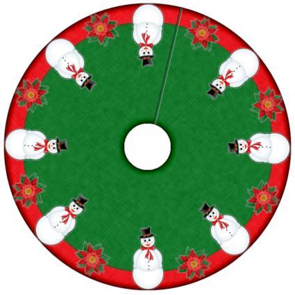 Sew Christmas Tree Skirt