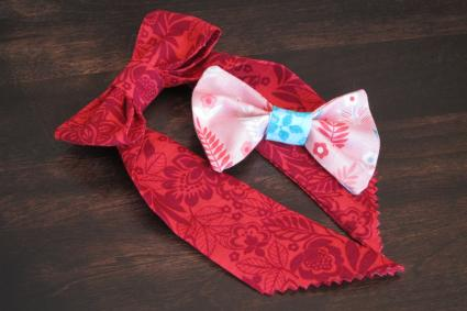 completed bows