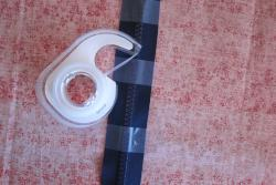 zipper and tape