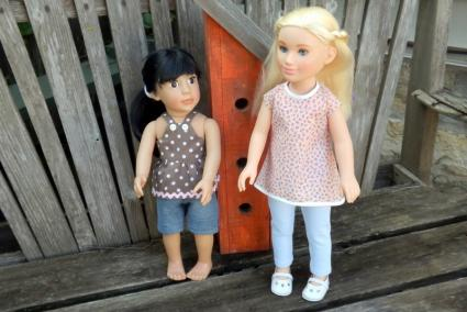 "18"" and 21"" Doll Clothes Patterns"