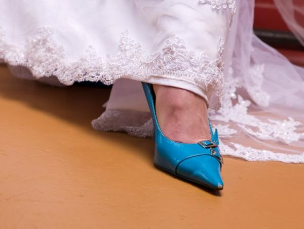 Blue Bridal Shoes Last Slide Start Next Slide
