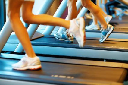 Running Shoe For A Treadmill