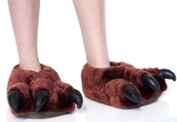 Novelty slippers for Mens bedroom slippers size 14