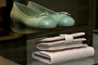 Coco Chanel ballerina flats