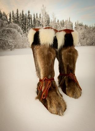 Men's Fur Boots