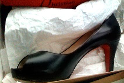 Louboutin Open Toe Shoe