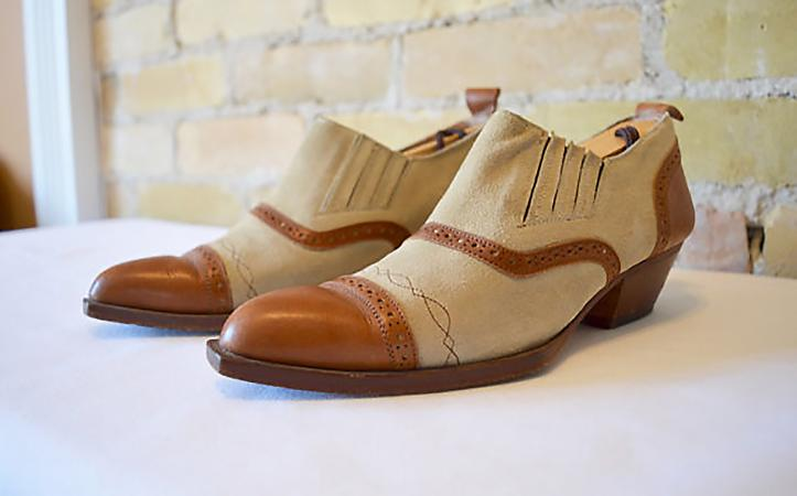 Pegabo two-tone vintage shoes