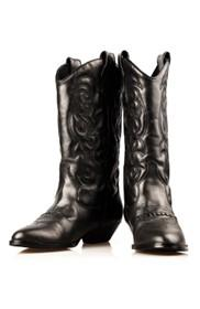Cowboy glossy boots