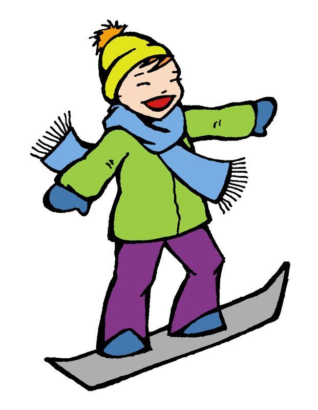 Snowboard Clipart [Slideshow]