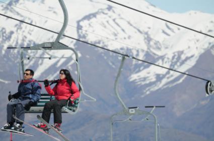 Argentina ski lift