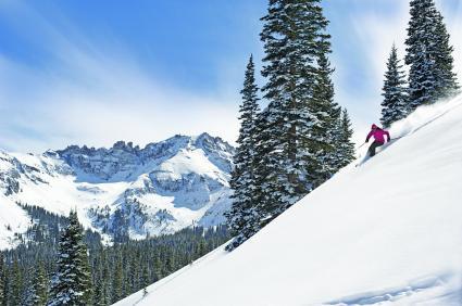 Ski hill at Telluride Resort
