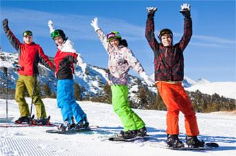 Snowboarding stance