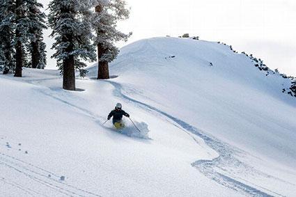 Northstar California Powder Skiing