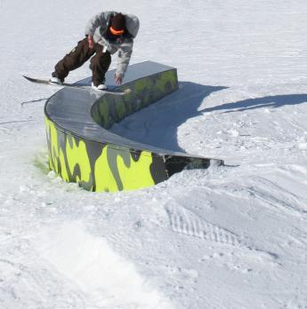 snowboard rail